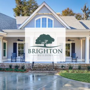 Brighton Builders | Logo with House
