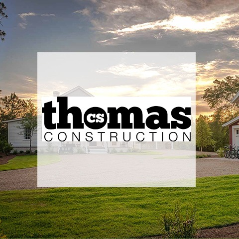 Thomas Construction | Logo with Background