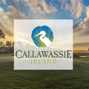 Callawassie Island | Logo with Background
