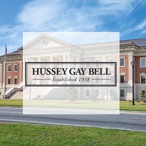 Hussey Gay Bell | Logo with Background